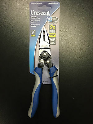 "Crescent PS20509C 9"" ProSeries Linesman's Compound Action Pliers NEW"