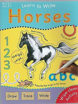 Learn to write with Horses (Paperback)