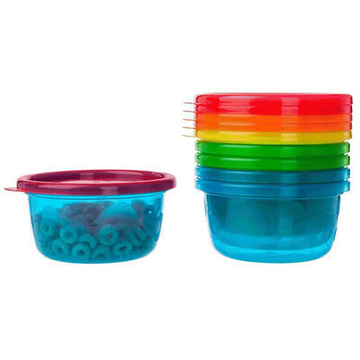 THE FIRST YEARS - Take and Toss Toddler Bowls with Lids 8 oz. - 6 Pack