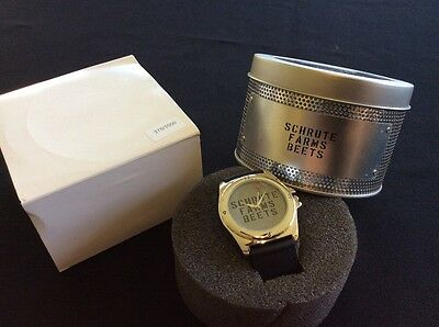 The Office - Shrute Farms Beets Wrist Watch - Rare - 1000 Ever Made - Sdcc New