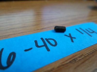 6-40 X 1/4 Soc Set Screw Cup Point