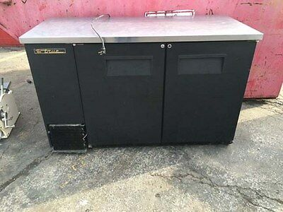 True Underbar Swing Door Back Bar Cooler  TBB-2