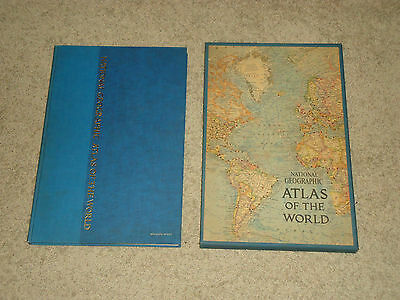 National Geographic Atlas of the World. 1963 Edition W/ Box Case