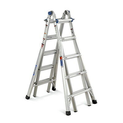 Werner 135Kg 1.5 -2.7m Telescoping Multi Purpose Ladder MT-22AZ 6.7M Reach