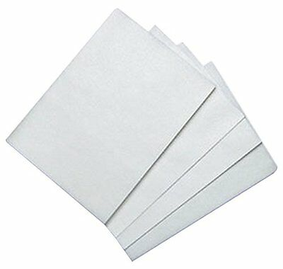 Bakery Craft BC WFS-0811 100 Count Edible Rectangle Rice, Wafer Paper -White NEW