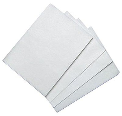Bakery Crafts BC WFS-0811 100 Count Edible Rectangle Rice and Wafer Paper -White