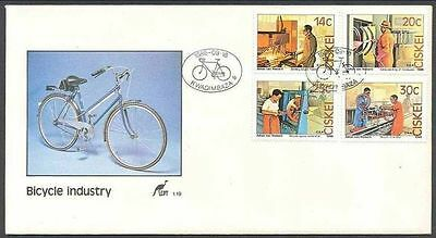 Ciskei 1986 Bicycle Factory FDC