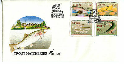 Ciskei 1989 Trout Hatcheries FDC