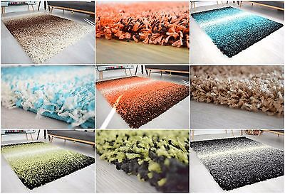 New X Large Modern 3 Tone Mix Thick Shaggy Rug 5Cm Cheap Soft Pile Area Rug Mats