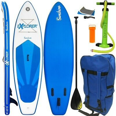 Explorer Stand Up Paddle Surfboard 305Cm Aufblasbar Paddel Pumpe Sup Isup 28305