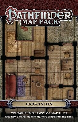 Urban Sites - Map Pack - Pathfinder RPG Accessory
