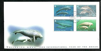 Thailand 1998 International Year of the Ocean FDC