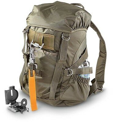 Military Flight Backpack Survival GearCamping Bugout Awesome High Quality