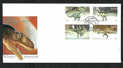 Thailand 1997 Dinosaurs FDC