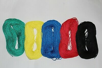 Twisted Polypropylene Cord 2mm Line Tie String Thread Yarn Fibre Poly Rope