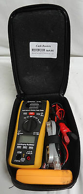 Digitech Multi - Network Modular Cable Tester Xc-5078 - Good Working Condition