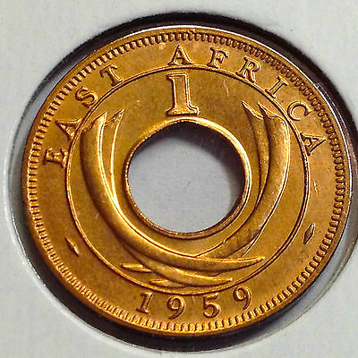 1959 British East Africa One Cent High Grade Coin