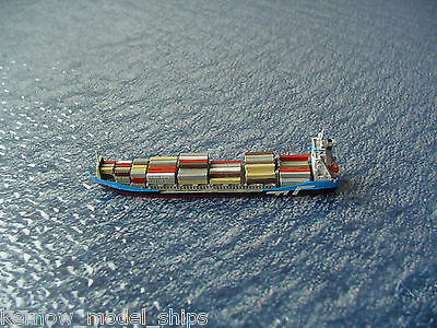 Dutch Container Ship SEA ADMIRAL by Optatus 1:1250 Waterline Model