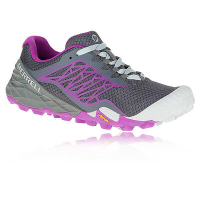 Merrell All Out Terra Light Womens Grey Purple Walking Outdoors Sports Shoes