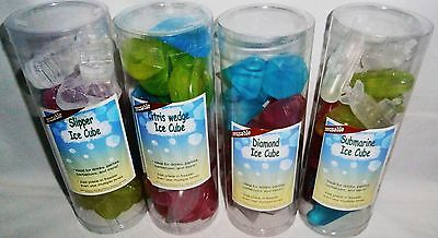 REUSABLE ICE CUBES  Assorted Shapes and Sizes