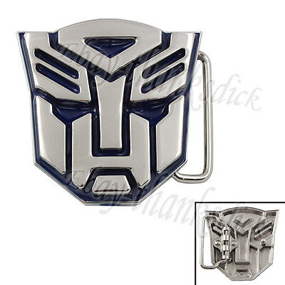 "Transformers Autobot Logo 6cm/2.4"" Removeable Man Metal Belt Buckle Cosplay New"