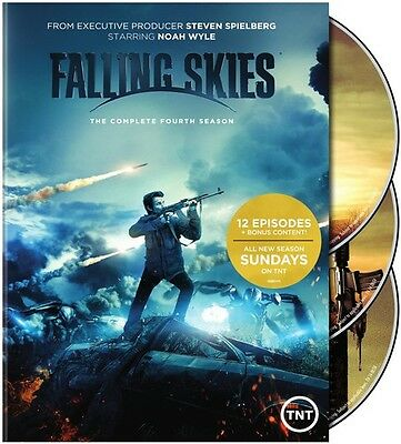 Falling Skies: The Complete Fourth Season - 3 DISC SET (2015, DVD New)