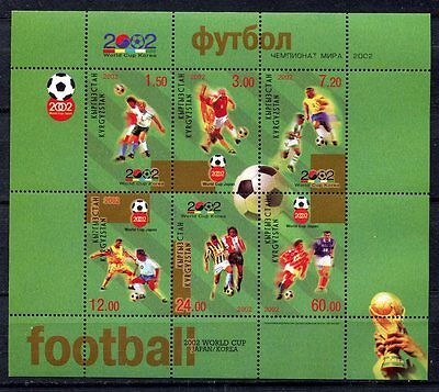 s7441A) KIRGYZSTAN 2002 MNH** World Cup Football - CM Calcio S/S