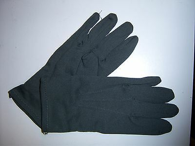 Boy's Gray Formal Gloves - One size fits most boys