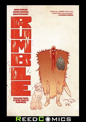 RUMBLE VOLUME 2 A WOE THAT IS MADNESS GRAPHIC NOVEL New Paperback Collects #6-10