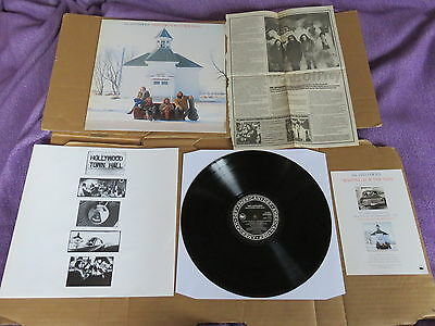 THE JAYHAWKS Hollywood Town Hall LP RARE 1992 UK ORIGINAL 1ST PRESSING & INSERT