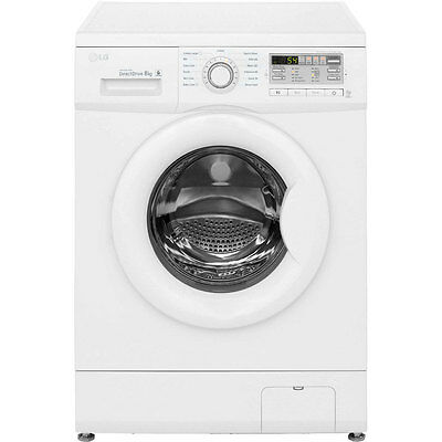 LG F14B8TDA A+++ 8Kg 1400 Spin Washing Machine White New from AO