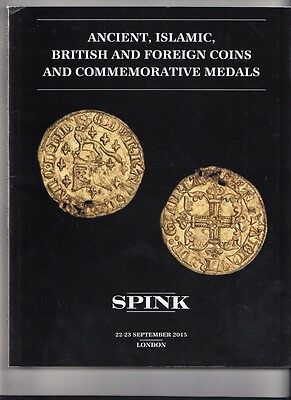 Spink Coins And Medals  22-23D Sept 2015 London