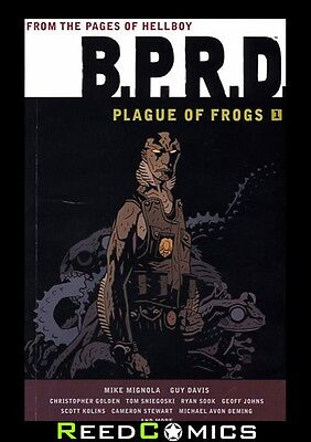 BPRD PLAGUE OF FROGS VOLUME 1 GRAPHIC NOVEL New Paperback *408 Pages*