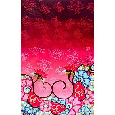 Lotus and Om Rayon Sarong or Altar Cloth!