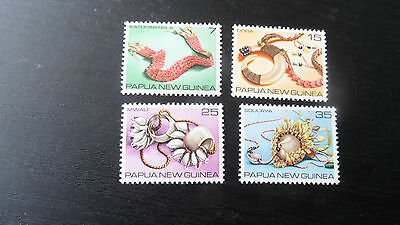 Papua New Guinea 1979 Sg 367-370 Traditional Currency .mnh
