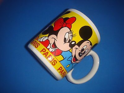 Rare Mug Tasse / Disney Paris Mickey Minnie Pluto Donald Daisy /  Tbe Ocasion