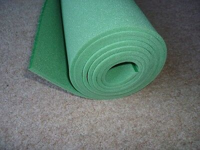 sound proofing & heat insulation  closed cell foam size 2mtre x 500mm x 3mmGREEN
