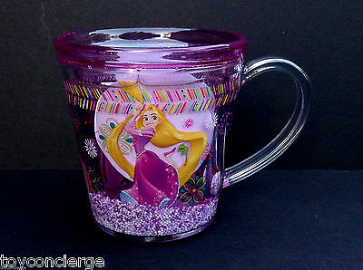 DISNEY Store MEAL TIME MAGIC Collection FUNFILL Cup 2015 RAPUNZEL 6 oz NWT