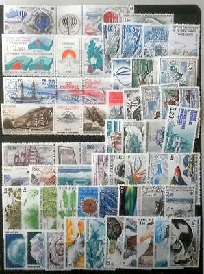 French Antarctic Territories  All Different Complete Sets Mint Unhing Stamps #4
