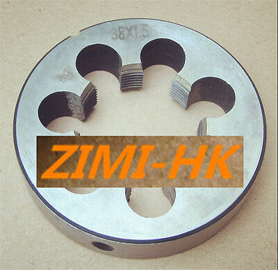 38mm x 1.5 Metric Right hand Die M38 x 1.5mm Pitch   (superior quality)