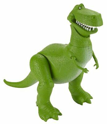 Toy Story Deluxe Rex Action Figure (BFP17) Mattel NEW FREE Shipping