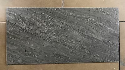 600x300mm RETREAT MIDNIGHT LAPPATO (SEMI-POLISHED) PORCELAIN FLOOR & WALL TILE