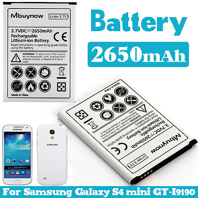 Mbuynow 2650 mAh Extended Replacement Battery charge for Samsung GALAXY S4 Mini