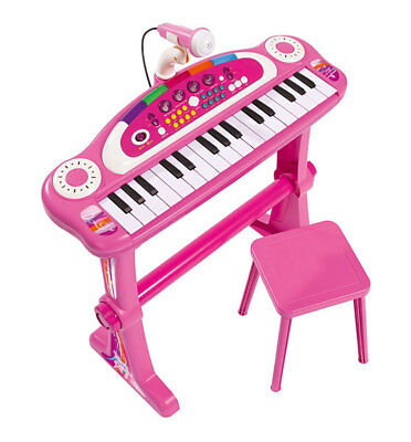 Simba 106830690 My Music World Girls Standkeyboard Spielzeug Kinder Klavier