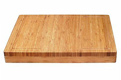 Lipper International (8830) Bamboo Over The Edge of Counter Cutting Board NEW ..