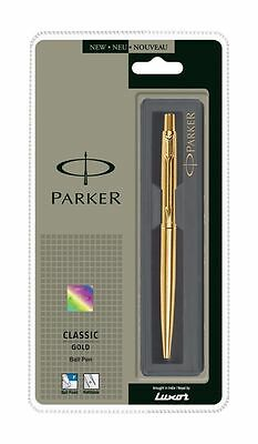 Parker Classic Gold Plated Ball Pen - Best Price