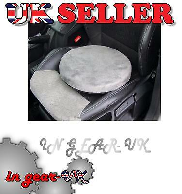 Car swivel seat cushion rotating revolving pad office memory foam mobility chair