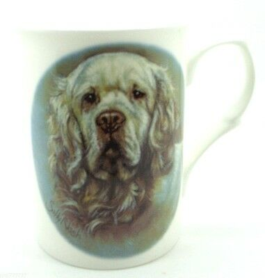 ~ Clumber Spaniel ~ Bone China Dog Mug