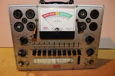 Vintage Eico Model 625 Tube Tester- Powers Up- Good- Sh