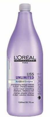 Shampoing Liss Unlimited l'Oréal 1500 ml